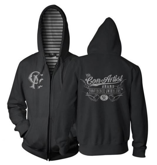 Con Artist Old Tymer Reversible Hoody